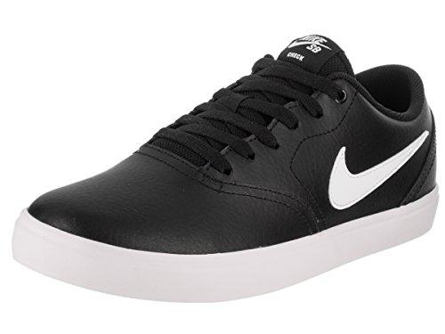 Nike SB Check Solar, Sneakers Basses Homme, Noir (Black/White 001), 45 EU