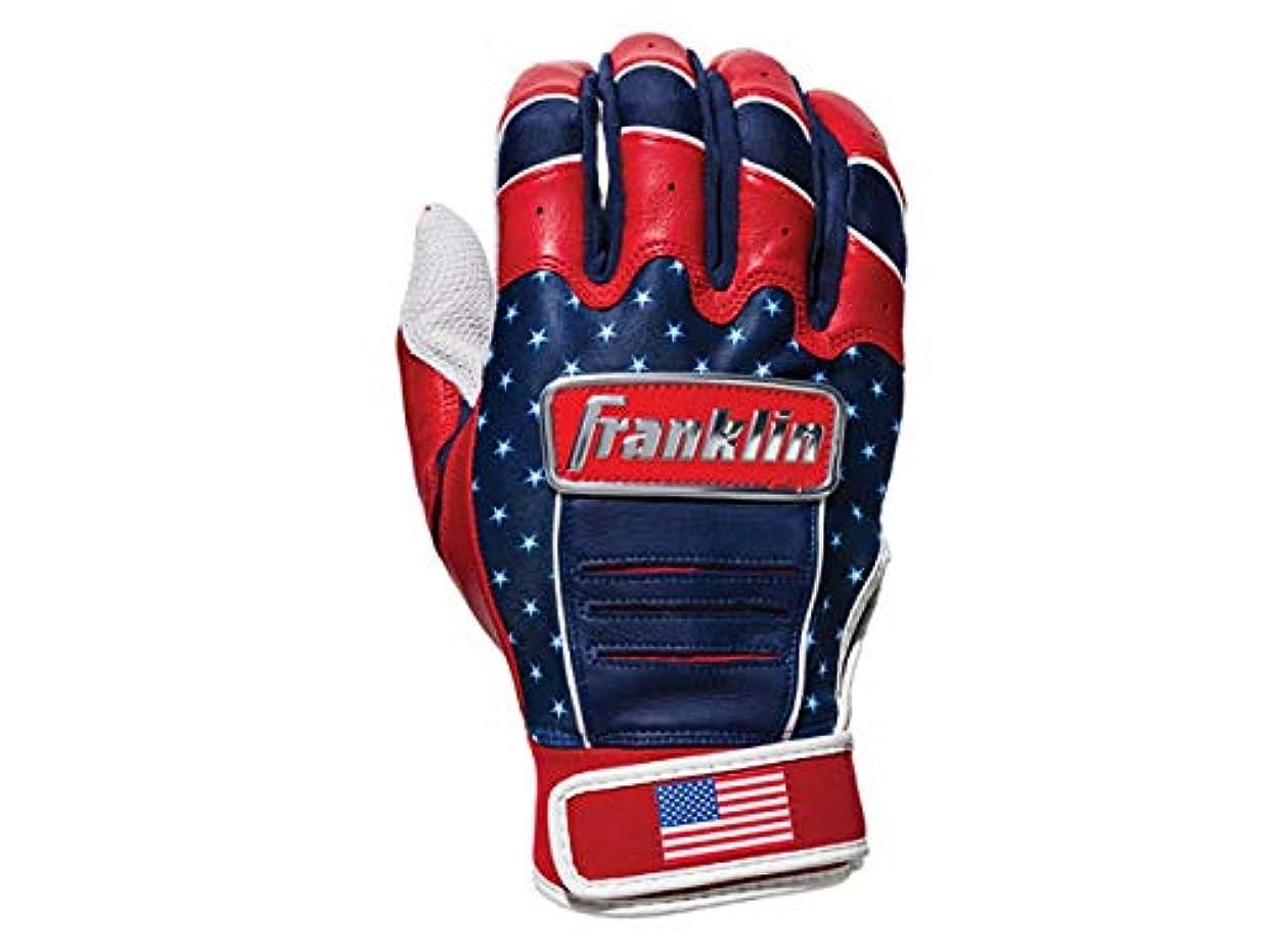 エスカレーター沈黙マディソンフランクリン franklin 限定 バッティンググローブ 手袋 両手用 4TH OF JULY 独立記念日モデル 21651