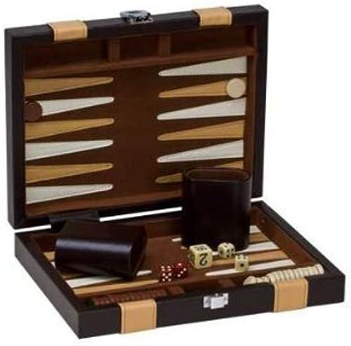 Backgammon Set, braun Tan, 9 by CHH