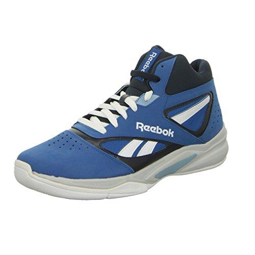 Reebok REEBOK PRO HERITAGE 1 - Zapatillas de baloncesto de cuero para hombre, color azul, talla 44