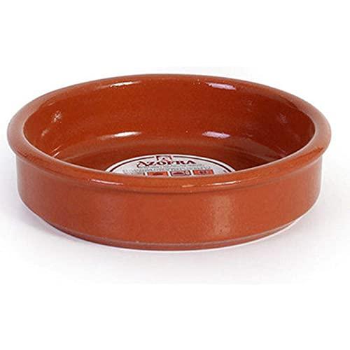 Pack de 12 cazuelas de barro, válidas para vitro, de 13 cm de diámetro exterior y 10,7 cm...