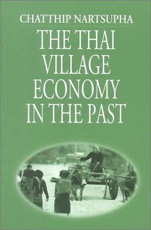 The Thai Village Economy in the Past PDF Books
