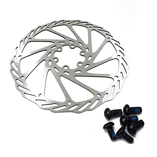 CfMdNb Rotores de Freno de Disco de Bicicleta de Acero Inoxidable MTB 180mm Accesorio para Bicicletas de Carretera de montaña Dropshipping