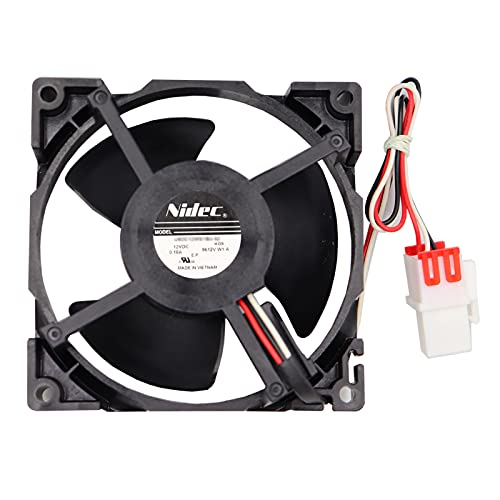 DA81-06013A, DA31-00287A Refrigerator Evaporator Fan Motor (OEM) for Samsung RF28HFEDBSG/AA-00, RF263BEAESR/AA-04, RF263TEAESG/AA-00, etc - 1 Year warranty