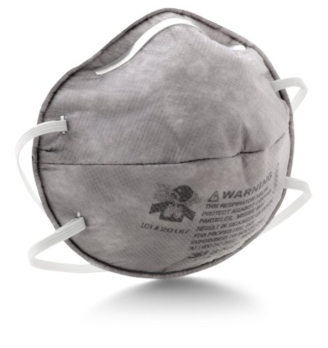 3M Particulate Respirator 8247, R95, with Nuisance Level Organic Vapor Relief 120 EA/Case