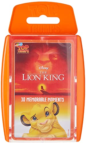 Winning Moves Top Trumps The Lion King Card Game