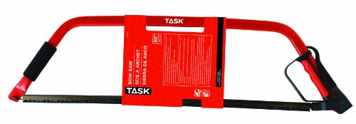 Task Tools T22301 Bow Saw for Cutting Logs