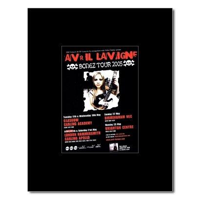 AVRIL LAVIGNE - Bonez Tour 2005 Matted Mini Poster - 13.5x10cm