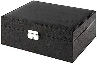 Jewellery Organizer Case Box Holder Storage Earring Ring Velvet Display Leather