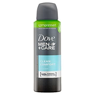 Dove Men+Care Clean Comfort Aerosol Anti-Perspirant Deodorant Compressed 125ml (B00M9BBAXE) | Amazon price tracker / tracking, Amazon price history charts, Amazon price watches, Amazon price drop alerts