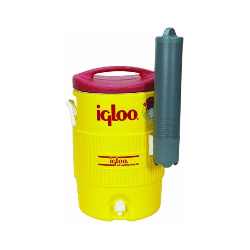 Igloo 400 Series 5-Gallon Beverage Cooler with Cup Dispenser -...