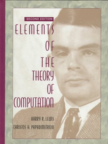 Elements of the Theory of Computationの詳細を見る