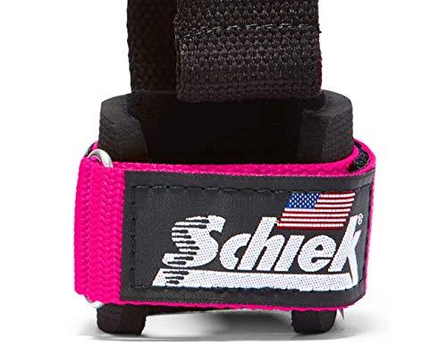 Schiek Sports Zughilfen mit Handgelenkschutz & Dübel Modell 1000DLSP - 4