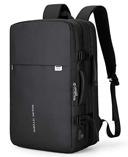 MARK RYDEN Handgepäck Rucksack25L-40L zum Mitnehmen Wasserdichter Laptop-Wochenendrucksack für 17,3-Zoll-Laptops, Diebstahlschutz, fluggeprüfter Rucksack, Handgepäckrucksack für Wochenendtrips