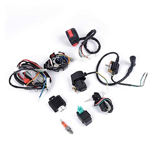 RJJX CDI-Kabel-Kabelbaum-Montage-Kit für ATV-Elektrostart-Quad 50 70 90 110 125cc