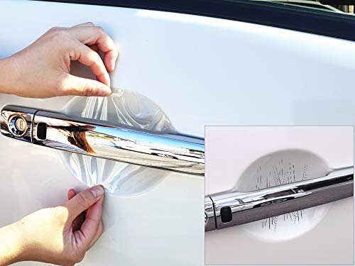 AUTOMAX izumi ドアノブスクラッチガード (CX-30 DM系) 車種専用 カット済み ドア 傷 防止 フィルム ガード ドアカップ スクラッチ PPFフィルム ペイント プロテクションフィルム 擦りキズ ひっかき 保護 クリア 透明