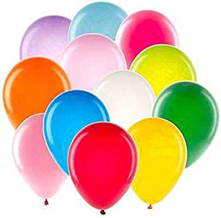 Set of 150 Black Duck Brand Balloons – 9 Inch Latex/Rubber– Assorted Colors Red-Blue-Green-Purple-Orange-Yellow-White Balloons