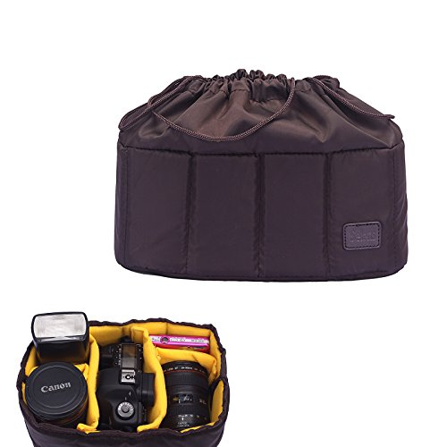 Selens Shockproof DSLR SLR Camera Bag Case Partition Padded Camera Insert, Make Your Own Camera Bag