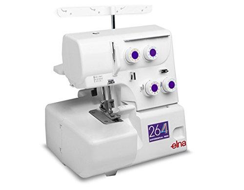 Elna 264 Overlock-Nähmaschine mit 4 Fäden