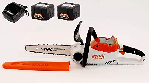 STIHL Motosega a batteria MSA 120 C-B + 2 AK20 + 1 AL101 (12540115888UC)