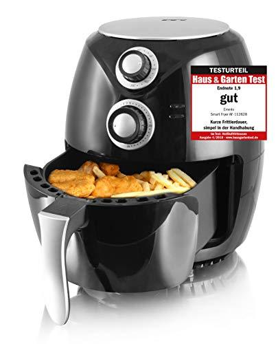 Emerio Heißluftfritteuse, Airfryer, Smart Fryer, Test 'GUT', Frittieren ohne Öl, 3,6 Liter...