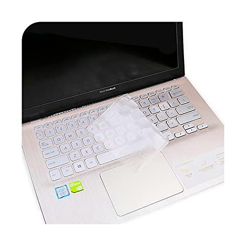 para ASUS VivoBook Flip S14 TP412UA TP412FA TP412 TP412U TP412F TP412U 14 '' portátil teclado cubierta Protector-transparente