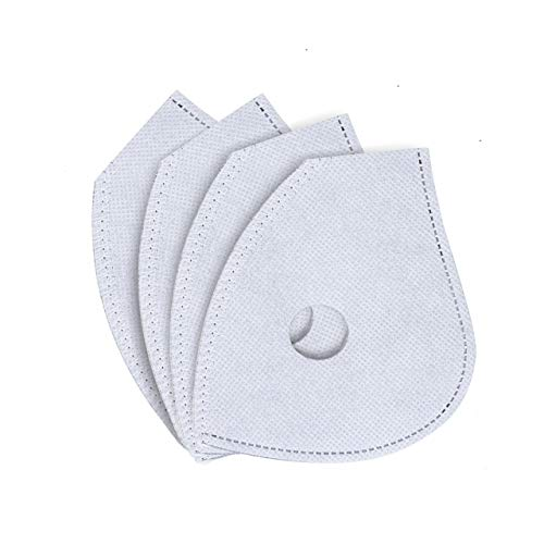 Black LIKESIDE Comfortable Breathable Pm2.5 Reusable Face Shield Mouth Cover Carbon Filter Valve Veil Scarf
