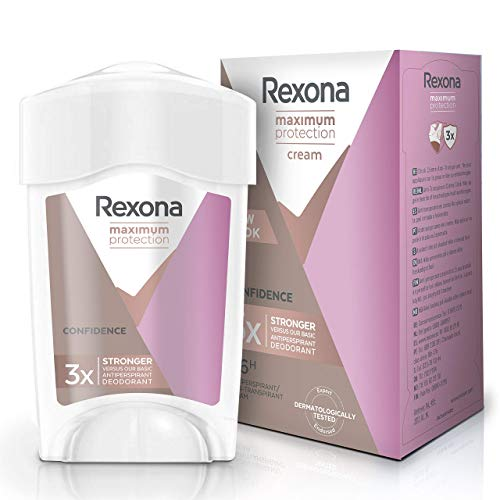 Rexona Maximum Protection Crema Antitranspirante Confidence 45mL