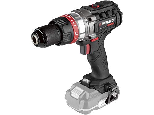 Parkside Cordless Hammer Drill PABSP 20- Li X20V, brushless, 2-Speed, LED (in Transport case, Without Battery and Charger)