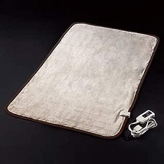 電気敷き毛布 HEAT CRACKER ヒートクラッカー 洗える 電気毛布 シングル フランネル 毛布 タイマー付き 自動OFF