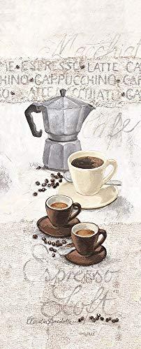 Posterazzi Collection Espresso Loft Poster Print by Claudia Ancilotti (20 x 10)