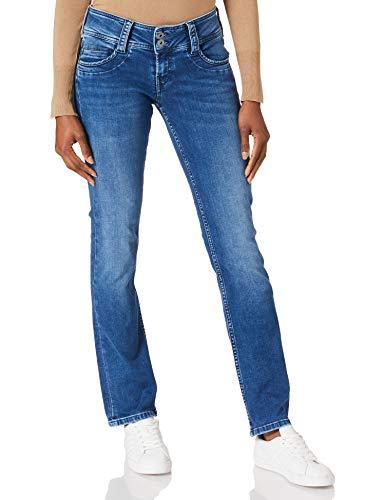 Pepe Jeans Damen Gen Jeans, Denim DF, 30W / 32L