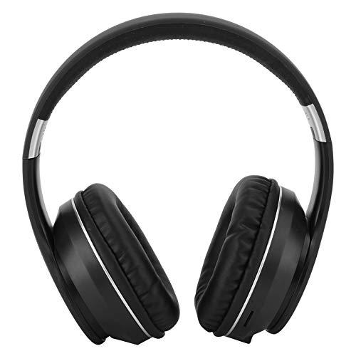 FASJ Auriculares para Juegos, Auriculares USB con Micrófono, Tabletas Portátiles con Cancelación De Ruido para Teléfonos Móviles, TV(Negro y Plateado)