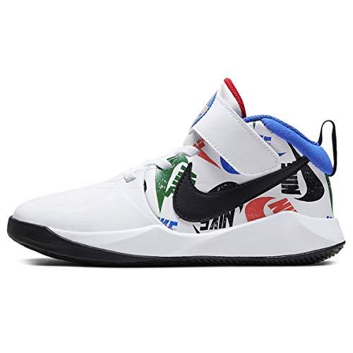 Nike Team Hustle D 9 (ps) Little Kids Cw5816-100 Size 1