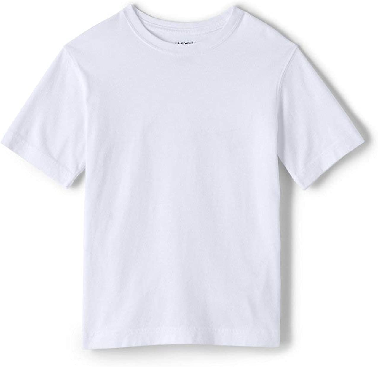 Lands' End School Uniform Boys Short Sleeve Essential T-Shirt