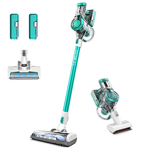 Tineco A11 Master+ Cordless Stick Vacuum Cleaner, Ultra Powerful Suction, Multi-Surface Cleaning, Great for Pet Hair, Emerald Green