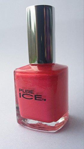 Bari Pure Ice Nail Polish, Pretty In Pink (Pink Pearl Shimmer), 0.5 oz