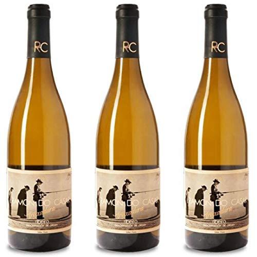 Treixadura Vino Blanco - 3 botellas x 750ml - total: 2250 ml