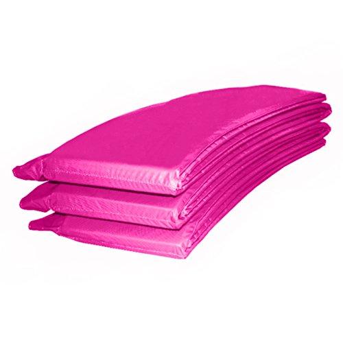 Baunsal GmbH & Co.KG Randabdeckung Federabdeckung Randschutz Abdeckung pink für Trampolin 244 bis 250 cm
