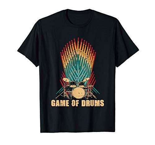 Game of Drums Drummer / Schlagzeuger Geschenk Schlagzeug T-Shirt