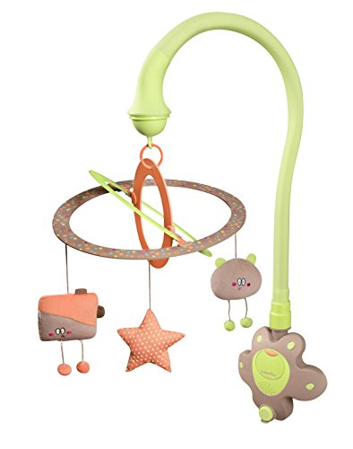 Babymoov Mobile d'Eveil Bébé Starlight Vert Amande