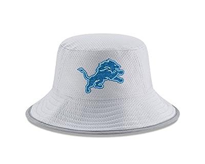 New Era Detroit Lions NFL 2018 Training Camp Sideline Bucket Hat - Gray