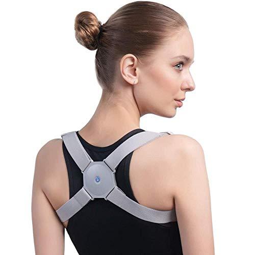 LKJHG Adjustable Intelligent Posture Trainer Smart Posture Corrector Upper Back Brace