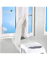 Raamafdichting voor mobiele airconditioners, 400 cm AirLock, geschikt voor elke airconditioner en alle slangmaten. (400 cm NEW)