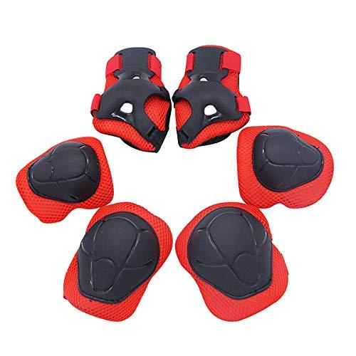 Fodlon Kinder Protektoren Set Schoner-Set Knieschoner Handgelenkschoner Ellenbogenschoner Schutzausrüstung für beim Inlineskaten, Schlittschuhlaufen,...