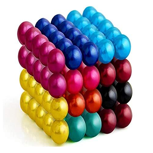 SHGK 1000 Billes Magnétiques Colorées 5mm En Néodyme - Aimants Puissants Pour Tableau, Frigo, Mur Magnétique, Fotos (Multicolor)