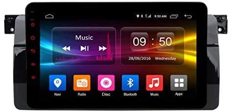 ZBHWYD Navegación GPS de 8 Pulgadas Android 6.0 para B M W E46 IPS Nano Nano 2.5D HD Pantalla táctil 2GB RAM 32GB ROM Octa Core 4G WiFi AUX USB Bluetooth GPS Navi Player