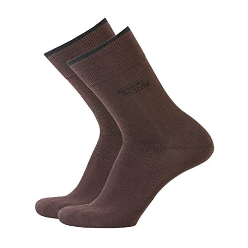 camel active Basic Socks 3er chocolate 39-42