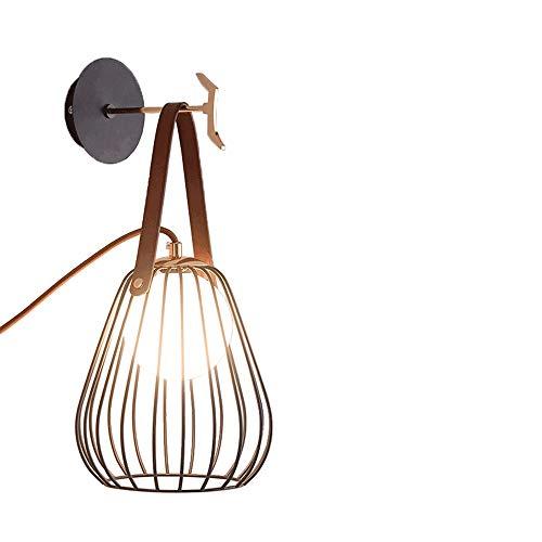 SVHK Nórdico Pared Dormitorio de la lámpara de cabecera de la lámpara de la Sala de la Personalidad Simple Moderna con el Interruptor Abierto Colgantes de Clavija lámpara de Mesa Luces utilizadas en,