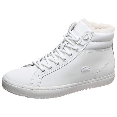 Lacoste Straightset Thermo Sneaker Damen weiß, 5.5 UK - 39 EU - 7.5 US
